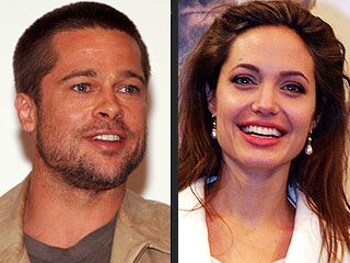 Brad, Angelina Pick Up Adopted Baby