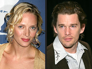 Uma and Ethan Near Divorce, Say Lawyers | Ethan Hawke, Uma Thurman