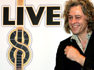 Bob Geldof Sets All-Star Live 8 Concert