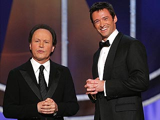 Hugh, Billy, Monty Python Light Up Tonys | Billy Crystal, Hugh Jackman