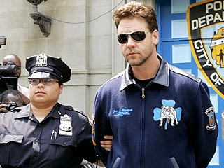 Russell Crowe Arrested in New York