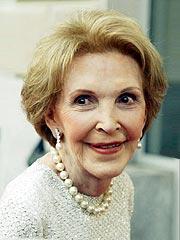 Nancy Reagan Briefly Hospitalized | Nancy Reagan