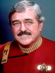 Star Trek Star&#39;s Ashes Heading for Space