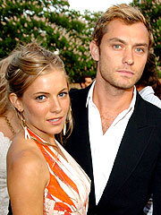 Jude Law Denies Rekindling Romance with Sienna Miller | Jude Law, Sienna Miller