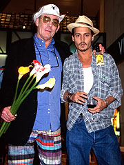 Johnny Depp Bankrolls Thompson Send-Off