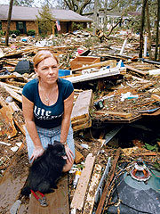 Hurricane Survivor: &#39;I Was Terrified&#39;