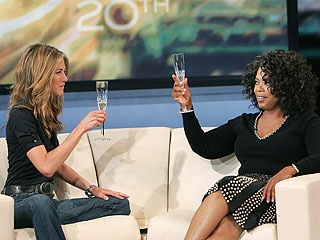 Jennifer Aniston Opens Up to Oprah