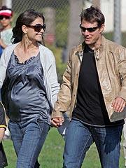 Katie Holmes on Pregnancy: 'I'm Beaming'