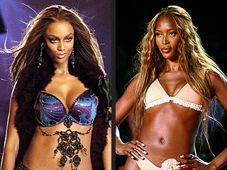 Tyra, Naomi Take Their Feud Face-to-Face