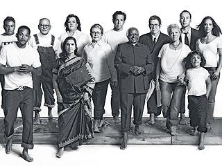 Mandela, Hanks Unite for AIDS Campaign  Kenneth Cole