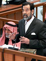 Saddam Skips Court at His Own Trial