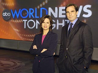 Vargas, Woodruff to Replace Peter Jennings