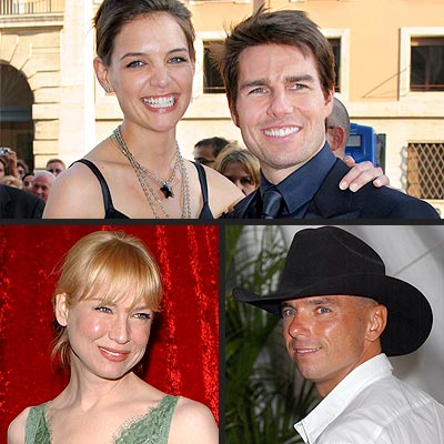 photo | Katie Holmes, Renee Zellweger, Tom Cruise