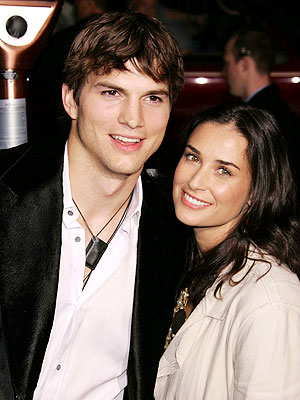ASHTON & DEMI photo | Ashton Kutcher, Demi Moore