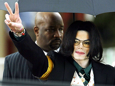 Michael Jackson at 2005 trial