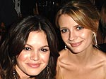 Emmys: The Stars Party! | Mischa Barton, Rachel Bilson