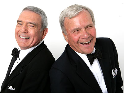 DAN RATHER & TOM BROKAW photo | Dan Rather, Tom Brokaw