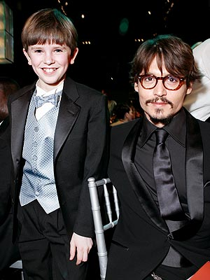 ALL SMILES photo | Freddie Highmore, Johnny Depp