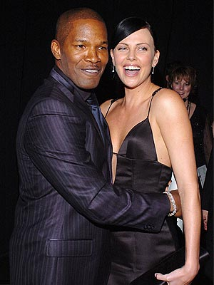 MAN OF THE HOUR photo | Charlize Theron, Jamie Foxx
