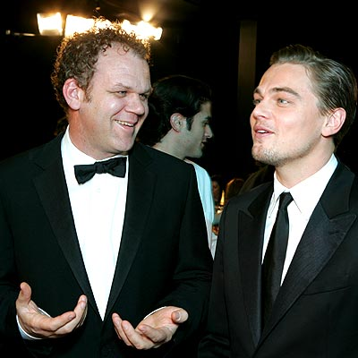 OSCAR-BOUND photo | John C. Reilly, Leonardo DiCaprio