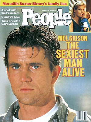 Who was PEOPLE's first Sexiest Man Alive? | Mel Gibson
