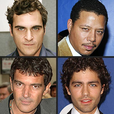 SEXIEST EYES photo | Adrian Grenier, Antonio Banderas, Joaquin Phoenix, Terrence Howard