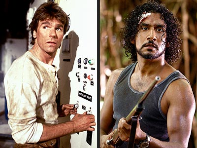 SEXIEST SURVIVALIST photo | Naveen Andrews, Richard Dean Anderson