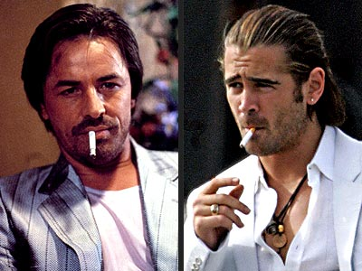SEXIEST STUBBLE photo | Colin Farrell, Don Johnson