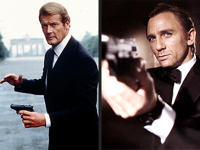 SEXIEST BOND photo | Daniel Craig, Roger Moore