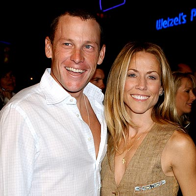 BICYCLER BUILT FOR TWO   photo | Lance Armstrong, Sheryl Crow