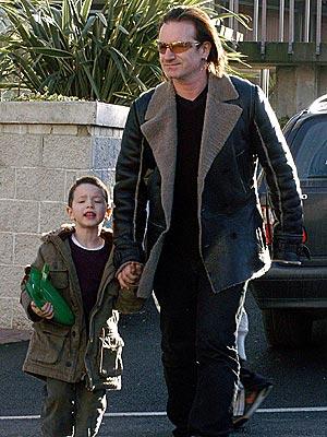 HORSING AROUND photo | Bono
