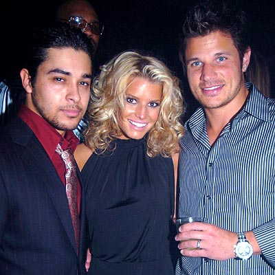 HOUSE PARTY photo | Jessica Simpson, Nick Lachey, Wilmer Valderrama