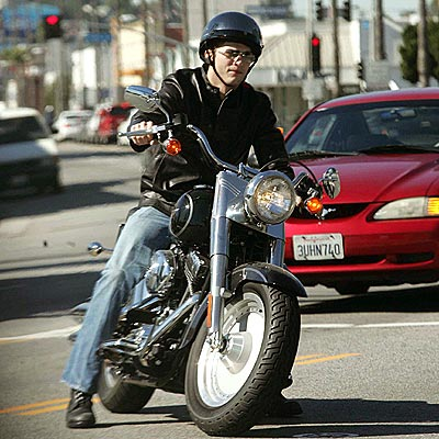WHEEL WILD GUY photo | Ashton Kutcher