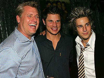 PARTY GUYS photo | Joe Simpson, Nick Lachey, Ryan Cabrera