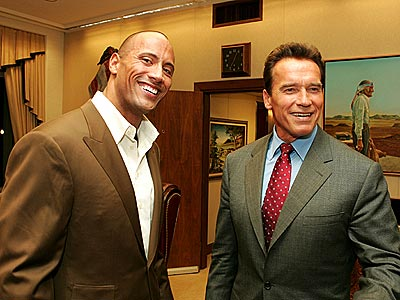 HARD BODIES photo | Arnold Schwarzenegger, Dwayne ''The Rock'' Johnson