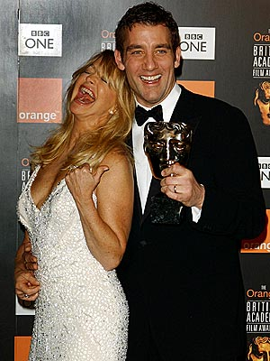 CLIVE WHO? photo | Clive Owen, Goldie Hawn