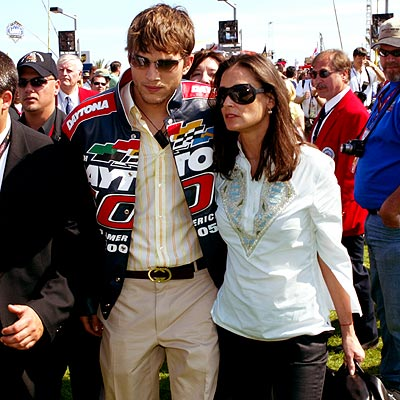 FAST LANE photo | Ashton Kutcher, Demi Moore