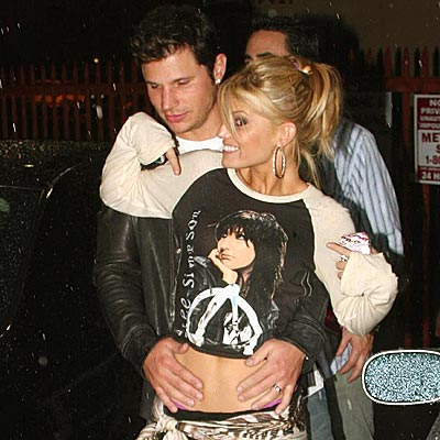 THE TEE ZONE photo | Jessica Simpson, Nick Lachey