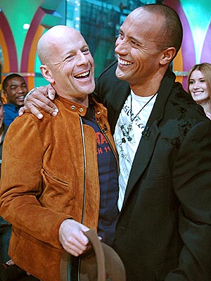HEAD TO HEAD photo | Bruce Willis, Dwayne ''The Rock'' Johnson