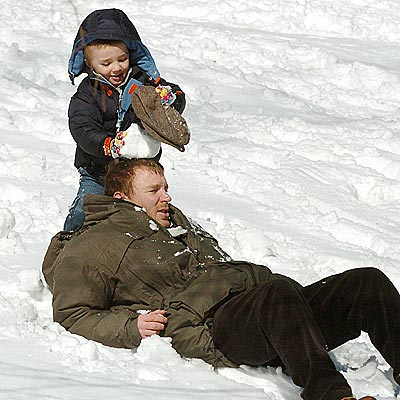 SNOW DAD photo | Guy Ritchie