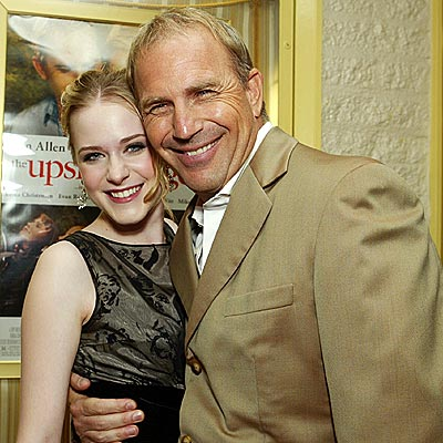 HAVING A BALL photo | Evan Rachel Wood, Kevin Costner