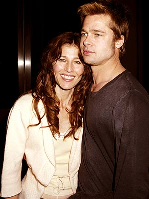 OLD FRIENDS photo | Brad Pitt, Catherine Keener