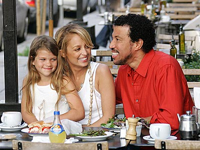 DADDY'S GIRLS photo | Lionel Richie, Nicole Richie