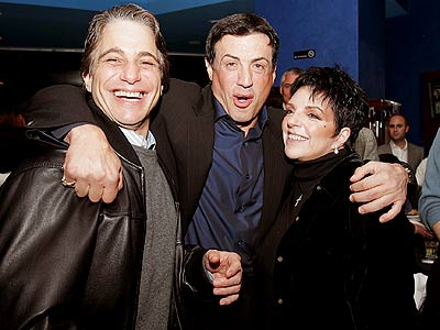 CLOSE CONTENDERS photo | Liza Minnelli, Sylvester Stallone, Tony Danza