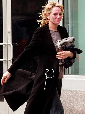 COOL FIT  photo | Uma Thurman