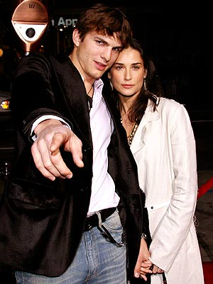 GUESS-ING GAME photo | Ashton Kutcher, Demi Moore