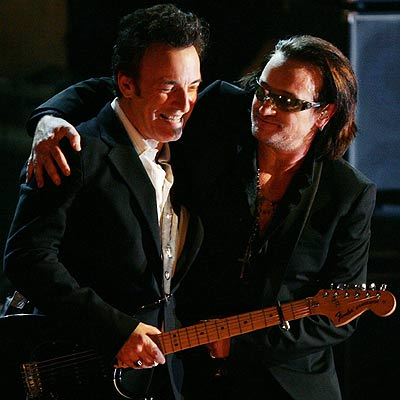 LIVING LEGENDS photo | Bono, Bruce Springsteen
