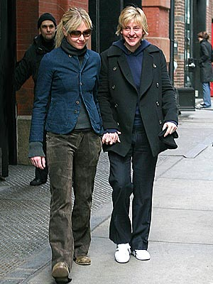OUT AND ABOUT photo | Ellen DeGeneres, Portia de Rossi