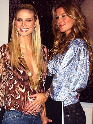 SEXY MAMA photo | Gisele Bundchen, Heidi Klum