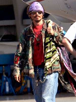 PLANE CLOTHES photo | Johnny Depp